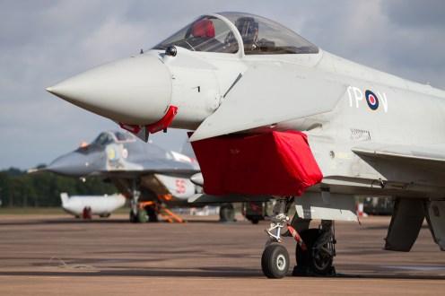 © Ben Montgomery • RAF Typhoon FGR4 • RIAT 2015