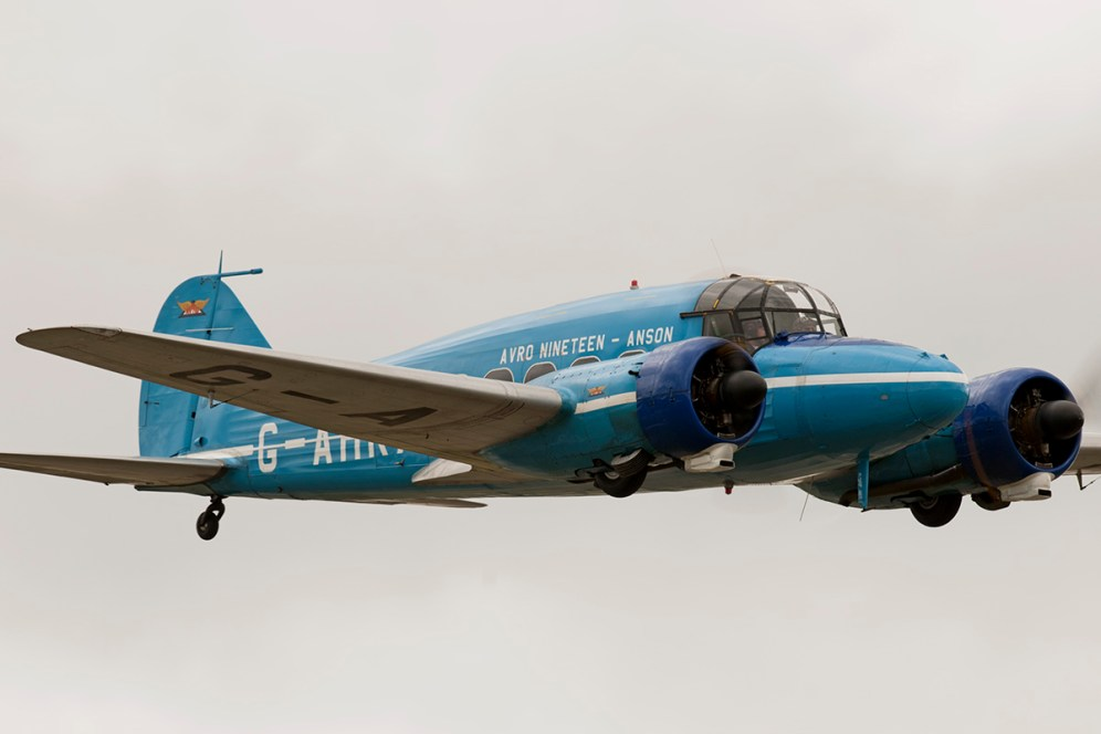 © Duncan Monk • Avro Anson Mk.XIX • RNAS Yeovilton Air Day 2015