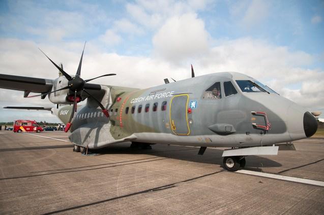 © Duncan Monk • CASA CN235 • RNAS Yeovilton Air Day 2015