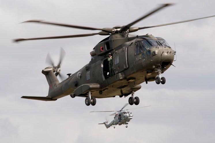 © Duncan Monk • Commando Role Demonstration - Merlin HC.3 • RNAS Yeovilton Air Day 2015