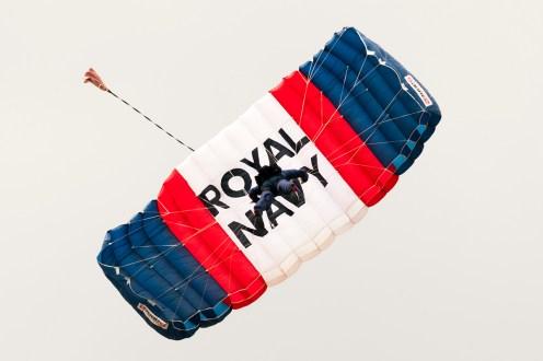 © Duncan Monk • Royal Navy Parachute Team • RNAS Yeovilton Air Day 2015