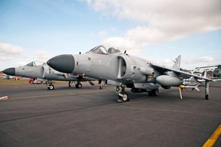 © Duncan Monk • BAe Sea Harrier FA.2 • RNAS Yeovilton Air Day 2015