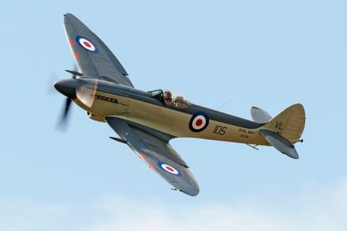© Duncan Monk • Supermarine Seafire Mk.XVII • RNAS Yeovilton Air Day 2015