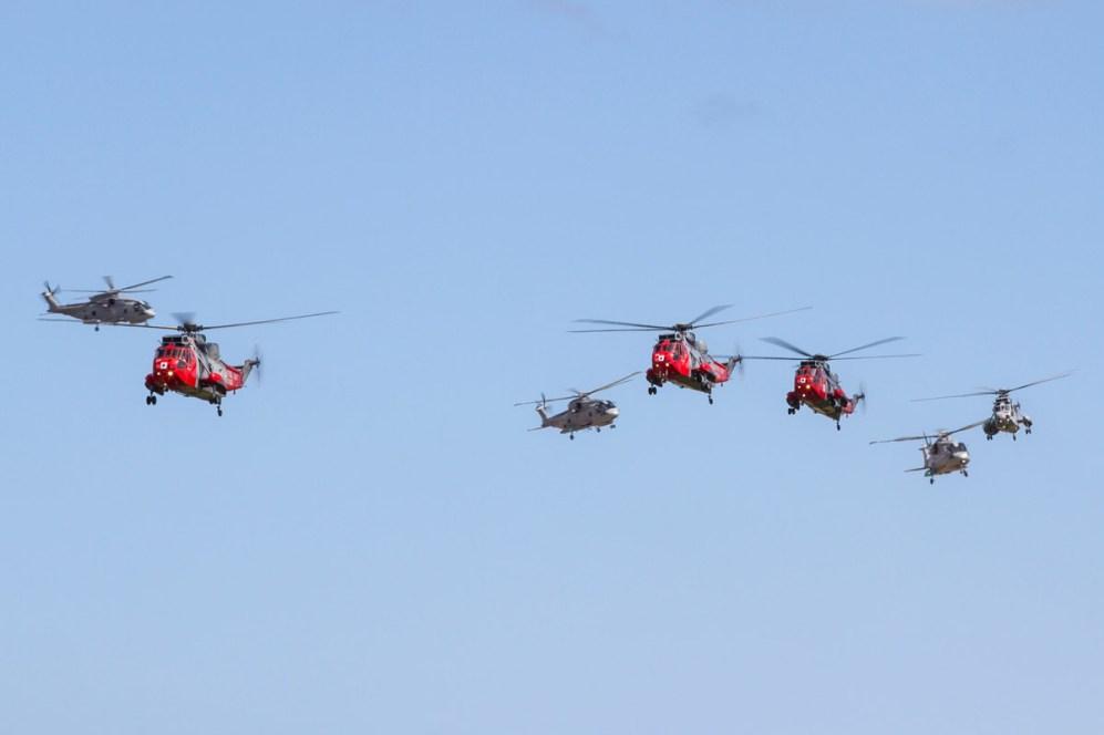© Ben Montgomery • Culdrose Balbo Formation • RNAS Culdrose Air Day 2015