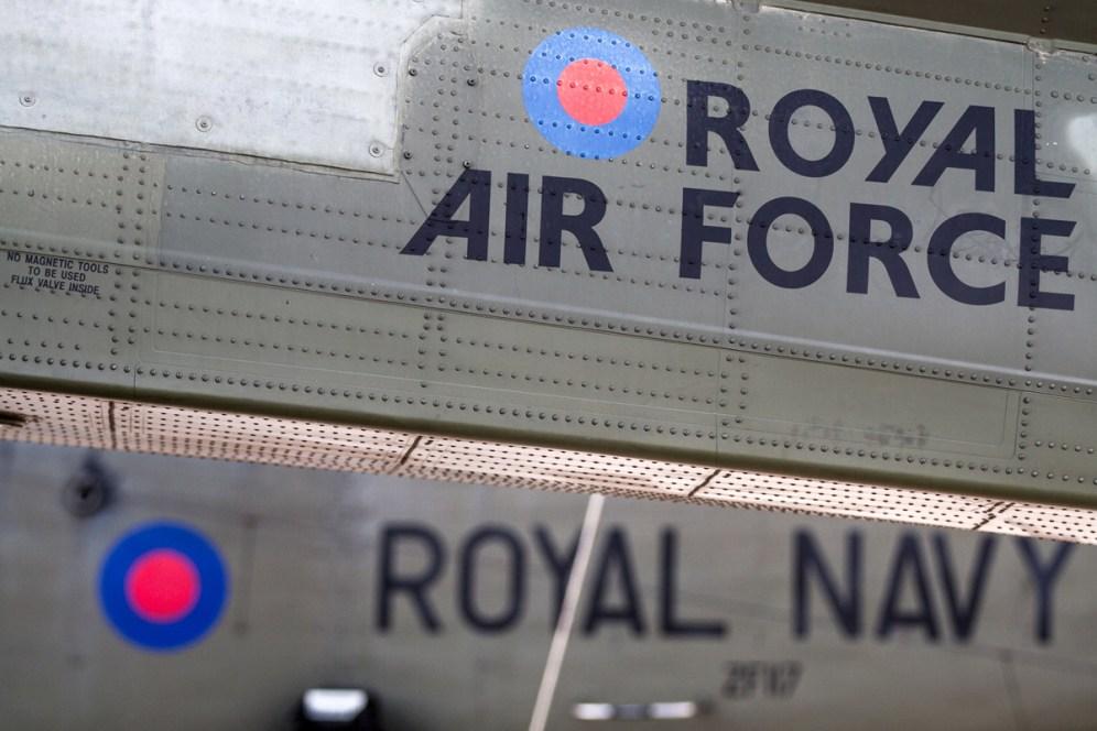 © Ben Montgomery • AgustaWestland Merlin HC.3 and Westland Sea King HC.4 • RNAS Culdrose Air Day 2015