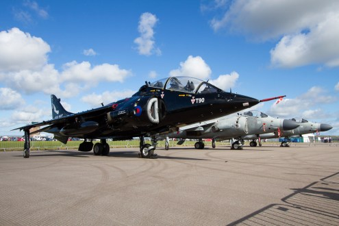 © Ben Montgomery • BAe Sea Harrier T.8 ZD990 • RNAS Culdrose Air Day 2015