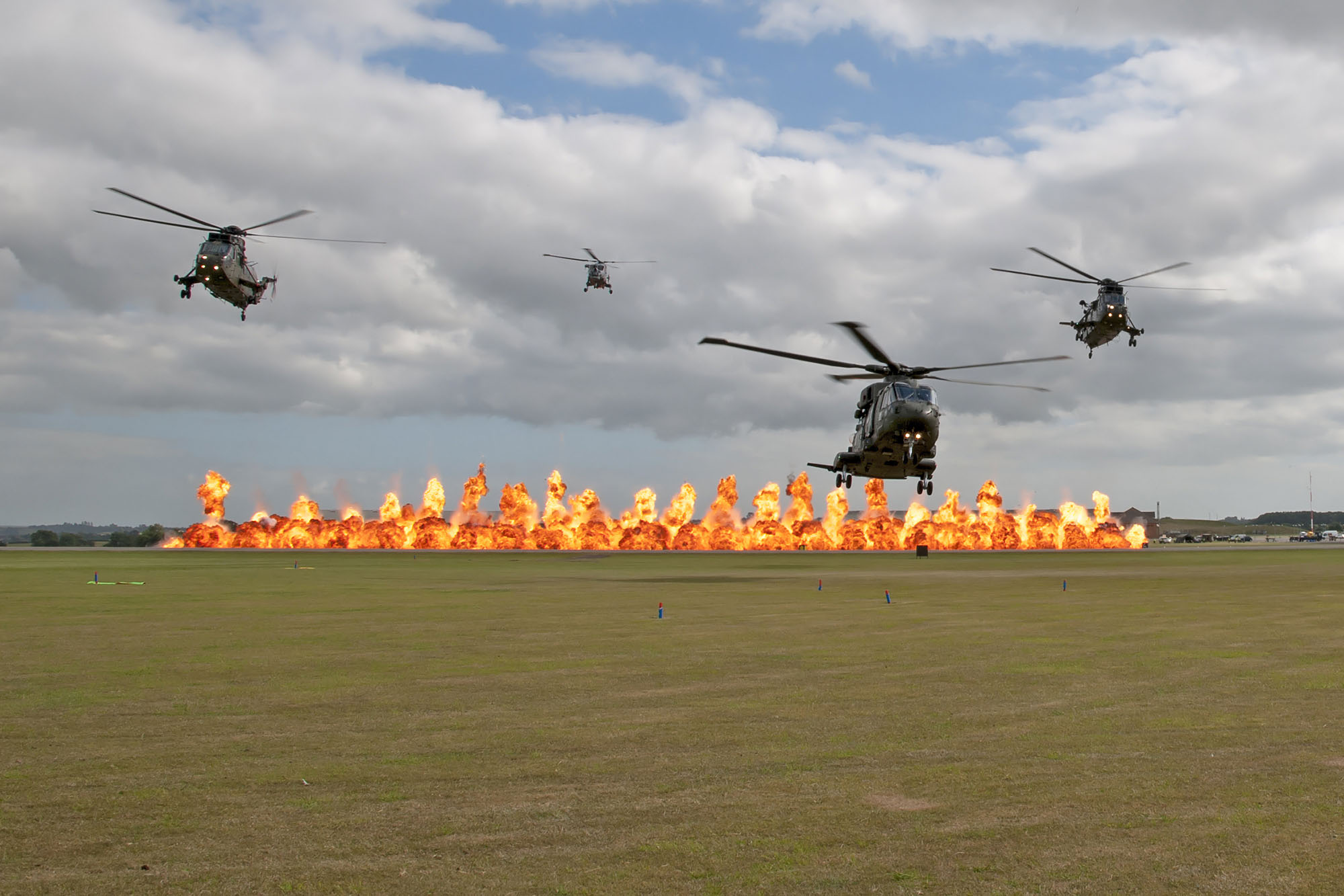 © Duncan Monk • Commando Role Demonstration Finale • RNAS Yeovilton Air Day 2015