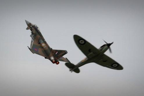 © Jamie Ewan • RAF Battle of Britain Syncro Pair • Dunsfold Wings & Wheels 2015