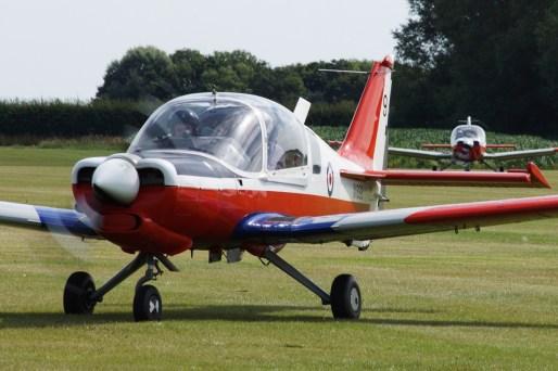 © Jamie Ewan • Scottish Aviation Bulldog T1 XX698/G-BZME • East Kirkby Airshow