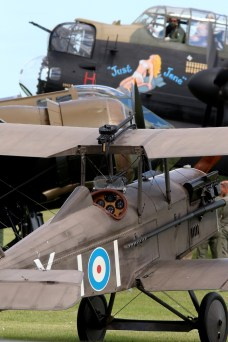 © Jamie Ewan • SE5a, Blenheim & Lancaster • East Kirkby Airshow