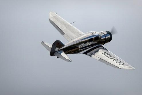 © Jamie Ewan • Spartan 7W Executive NC17633 • East Kirkby Airshow