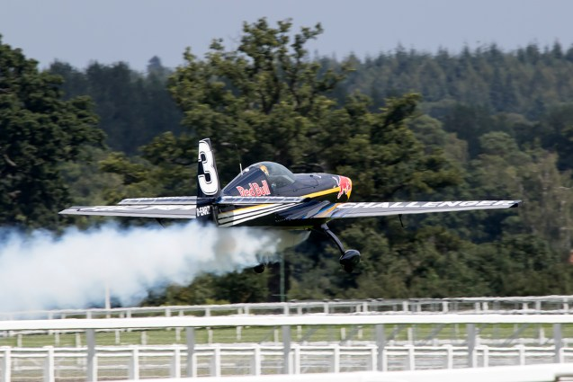 © Adam Duffield • RBAR Challenger Aircraft • Red Bull Air Race - Ascot