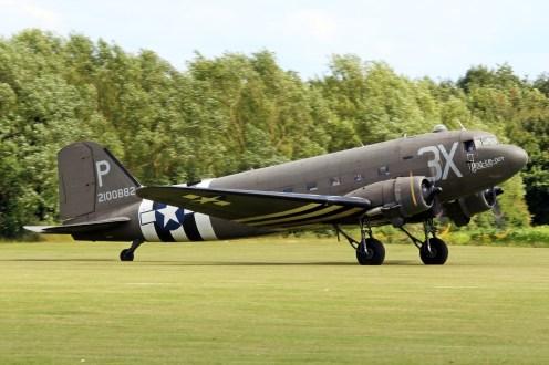 © Jamie Ewan • Douglas C-47A 'Drag em Oot' N473DC • East Kirkby Airshow