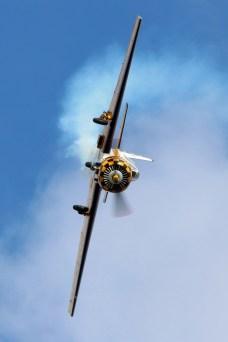 © Jamie Ewan • Yak-52 G-BXJB • East Kirkby Airshow