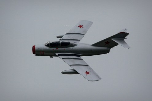 © Jamie Ewan • Norwegian Historical Squadron MiG-15 • Dunsfold Wings & Wheels 2015