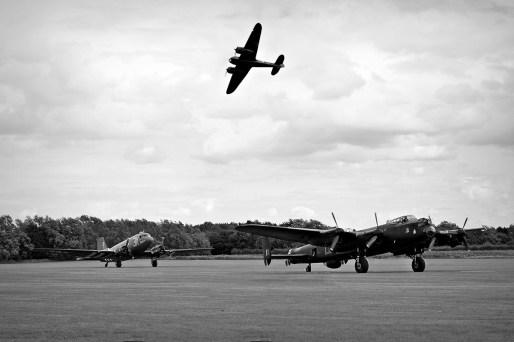 © Jamie Ewan • Blenheim, Lancaster & C-47 • East Kirkby Airshow