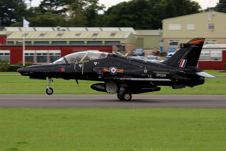 © Jamie Ewan • RAF Hawk T2 ZK028 • Dunsfold Wings & Wheels 2015