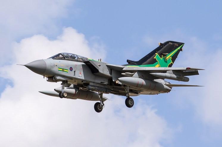 © Adam Duffield • Panavia Tornado GR.4 ZA456 • RAF Special Paint Schemes 2015