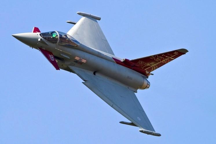 © Craig Sluman • Eurofighter Typhoon FGR4 ZK353 • RAF Special Paint Schemes 2015