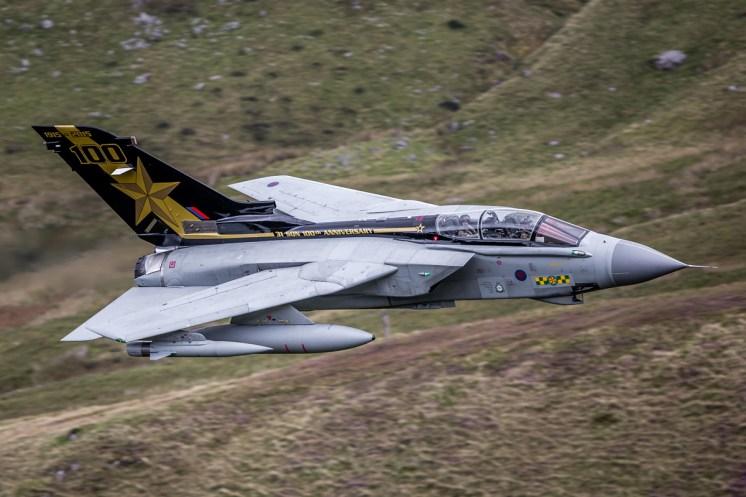 © Dave Sinnott • Panavia Tornado GR.4 ZA548 • RAF Special Paint Schemes 2015