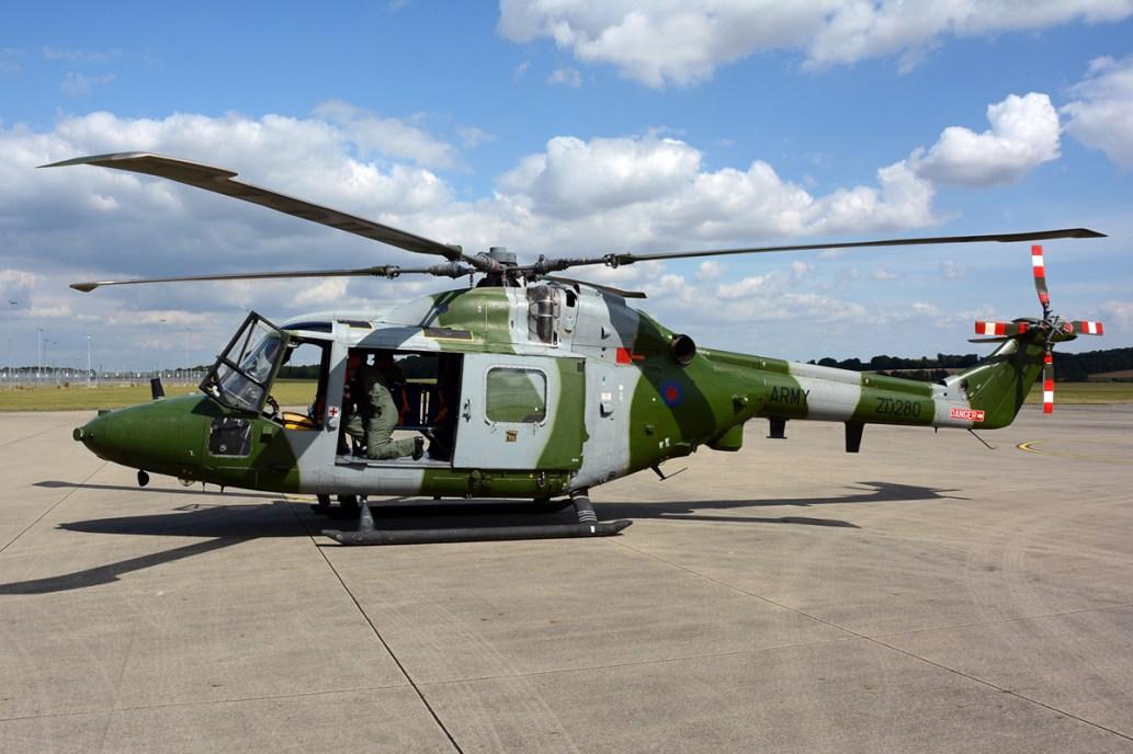© Mark Empson • Westland Lynx AH.7 ZD280 • AAC Lynx AH.7 Retirement
