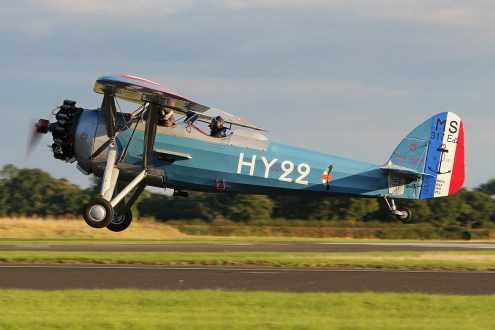 © Jamie Ewan - Morane-Saulnier MS.317 Ed2 - The Yorkshire Air Show 2015