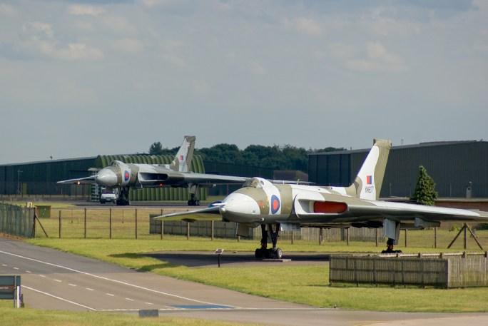 © Daniel Harriss - 2011 at RAF Waddington on the Thursday before the Airshow - Vulcan XH558 Image Wall