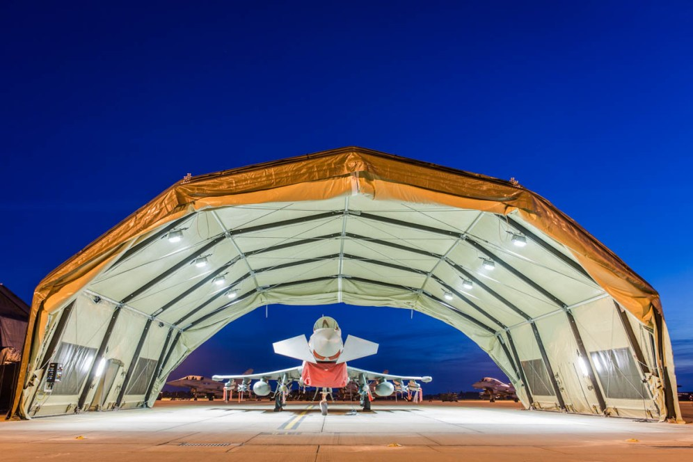 © Harry Measures • Eurofighter Typhoon FGR.4 • RAF Coningsby Nightshoot