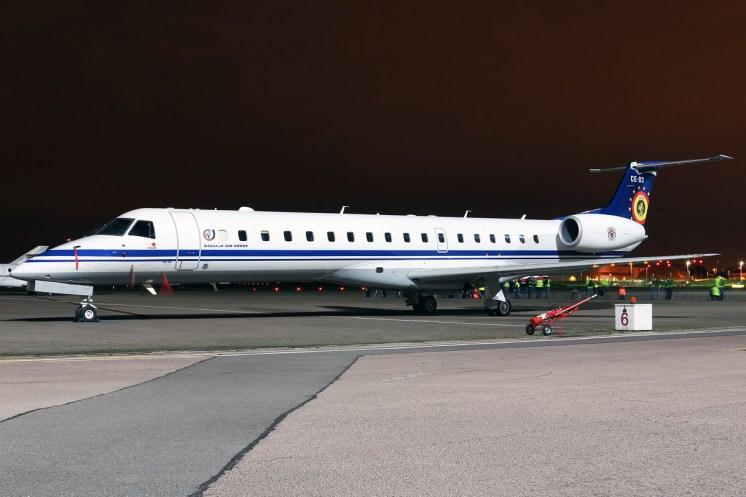 © Mark Kwiatkowski - Embraer ERJ-145LR CE-03 - Northolt Nightshoot XIX