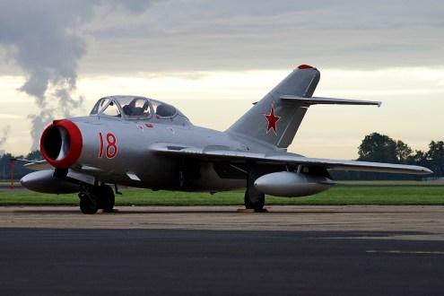 © Jamie Ewan - SB Lim-2 (MiG-15UTI) - The Yorkshire Air Show 2015