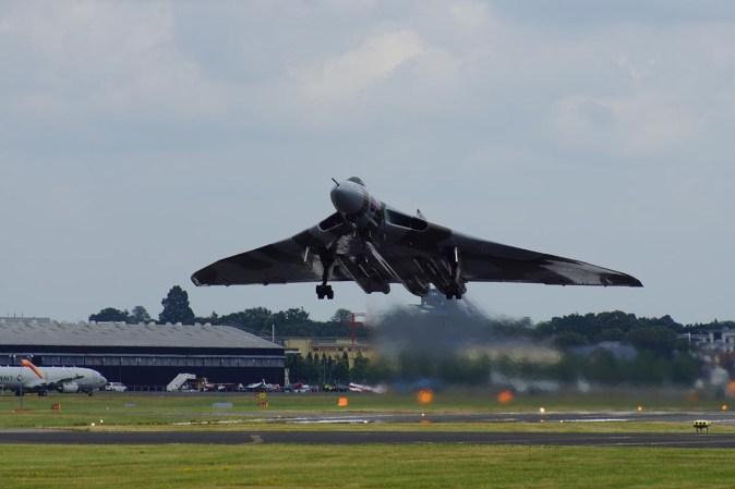 © P Brake - Farnborough International Airshow 2014 - Vulcan XH558 Image Wall