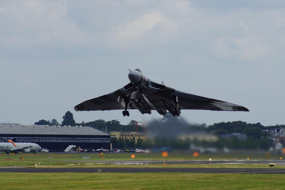 © P Brake - Farnborough International Airshow 2014 - Vulcan XH558 Image Wall