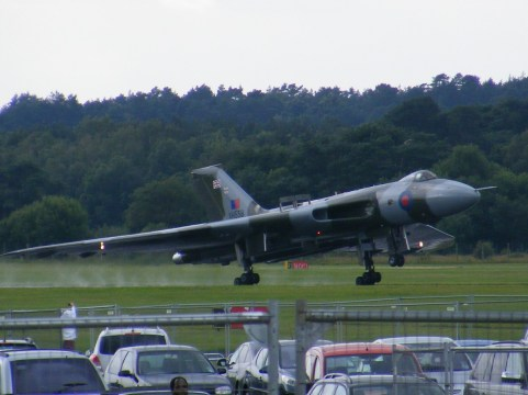 © Tony Ashcroft - Farnborough during the 2012 Airshow - Vulcan XH558 Image Wall