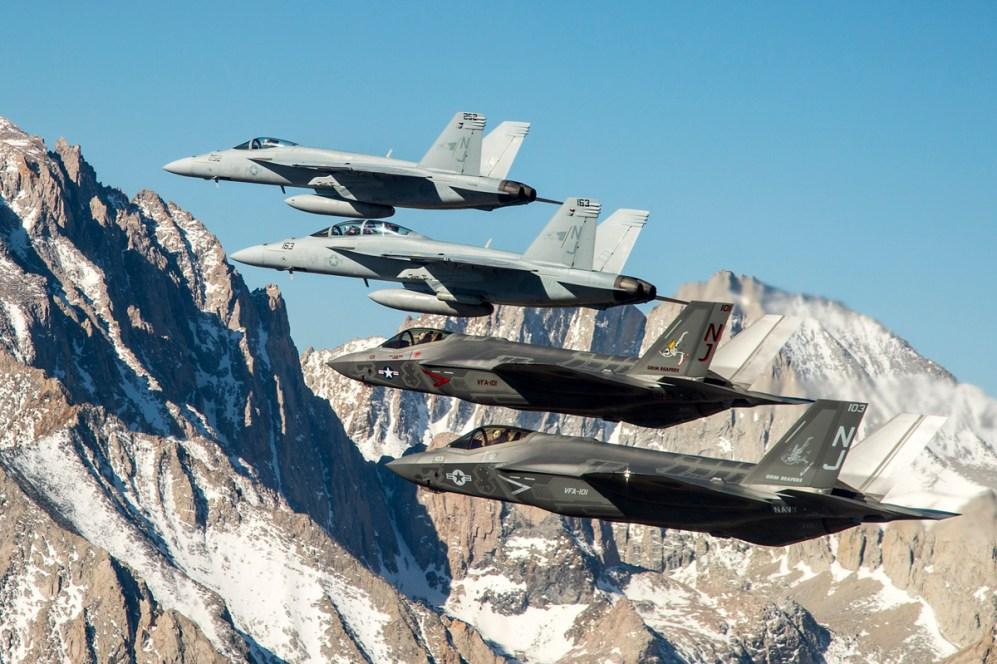 © US Navy - Lt. Cdr Darin Russell • Lockheed Martin F-35C Lightning II • F-35 Joint Strike Fighter Part 2