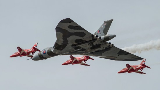 © Cameron Sys - RIAT on 18/7/15 - Vulcan XH558 Image Wall