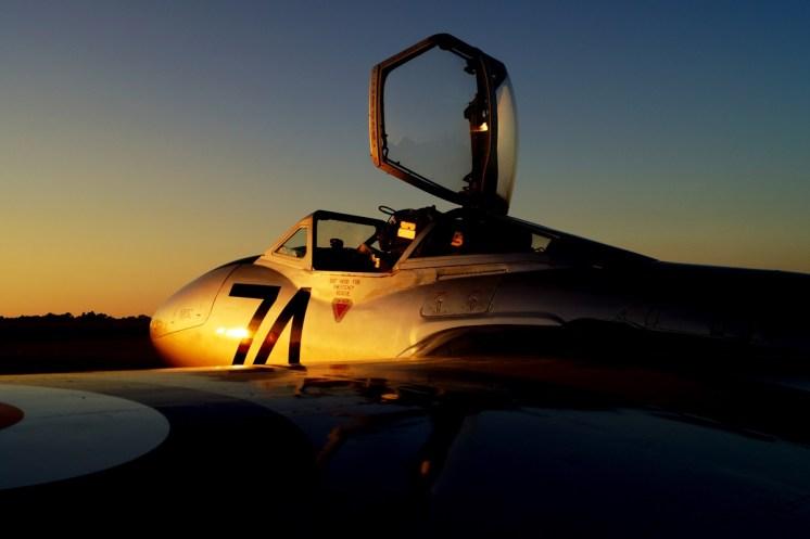 © Jamie Ewan - de Havilland Vampire T11 WZ507 (G-VTII) - Sywell Radial
