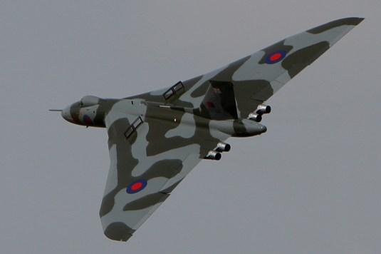 © Martin McGrath - Wattisham practice display 2012 - Vulcan XH558 Image Wall