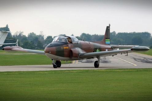 © Jamie Ewan - BAC Jet Provost T-52 G-PROV - Sywell Radial