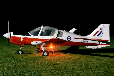 © Mark Empson - Scottish Aviation Bulldog XX624/G-KDOG - Bourne Park Nightshoot