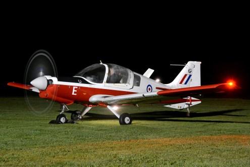 © Mark Empson - Scottish Aviation Bulldog XX624/G-KDOG - Bourne Park Nightshoot