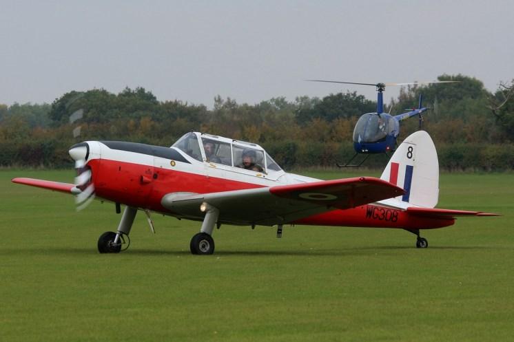 © Jamie Ewan - De Havilland DHC-1 Chipmunk T.10 WG308 - Sywell Radial
