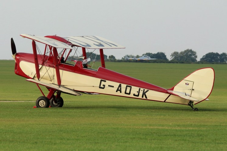 © Jamie Ewan - de Havilland DH.82 Tiger Moth G-AOJK - Sywell Radial
