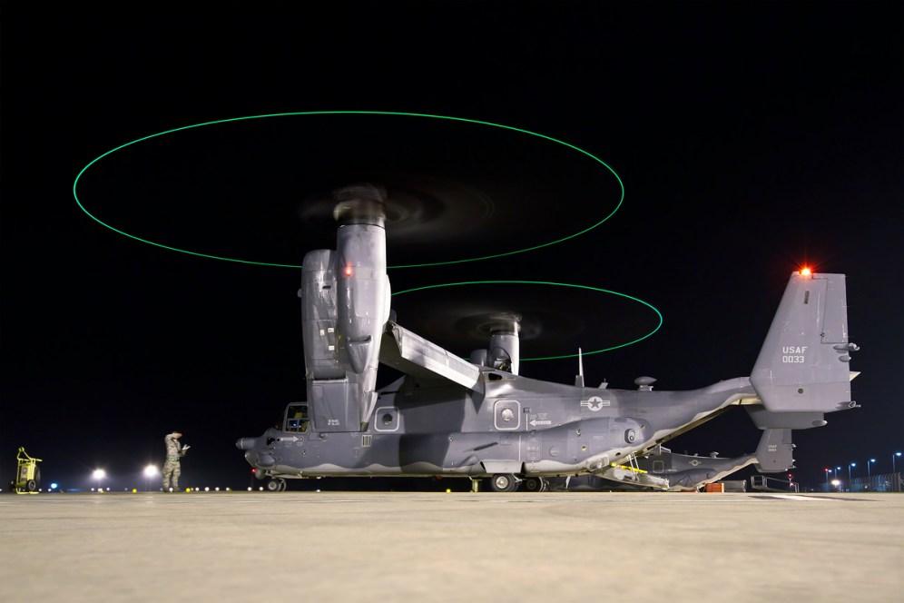 © Ben Montgomery - Bell-Boeing CV-22B Osprey at RAF Mildenhall - AeroResource 2015 Highlights