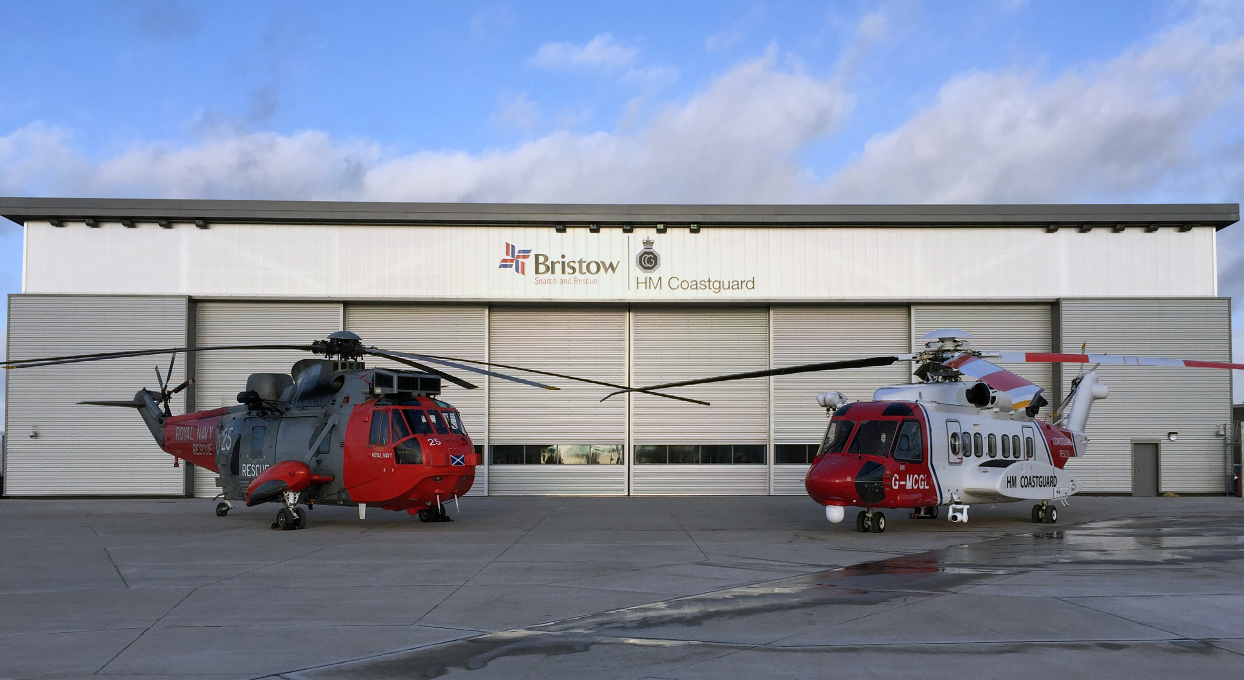 © Kevin Paterson - Westland Sea King HAR5 and Sikorsky S-92 - UK Helicopter Search and Rescue