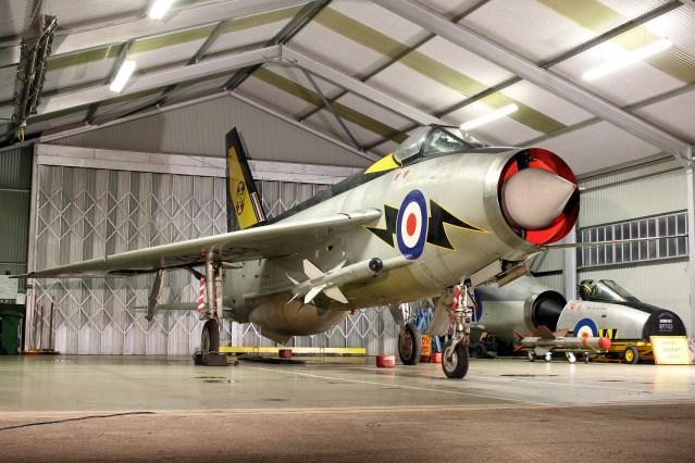 © Jamie Ewan - English Electric Lightning F.3 XR713 - Lightning Preservation Group Twilight Run