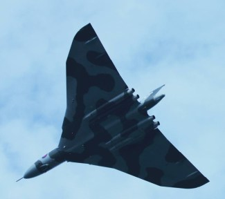 © June Pennell - Vulcan over Old Sarum 12 September 2015 - Vulcan XH558 Image Wall