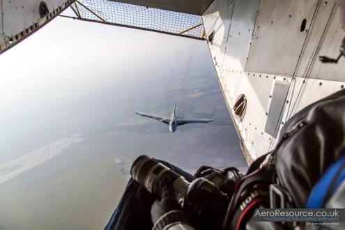 Vulcan XH558 Air to Air 4