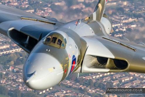Vulcan XH558 Air to Air 6