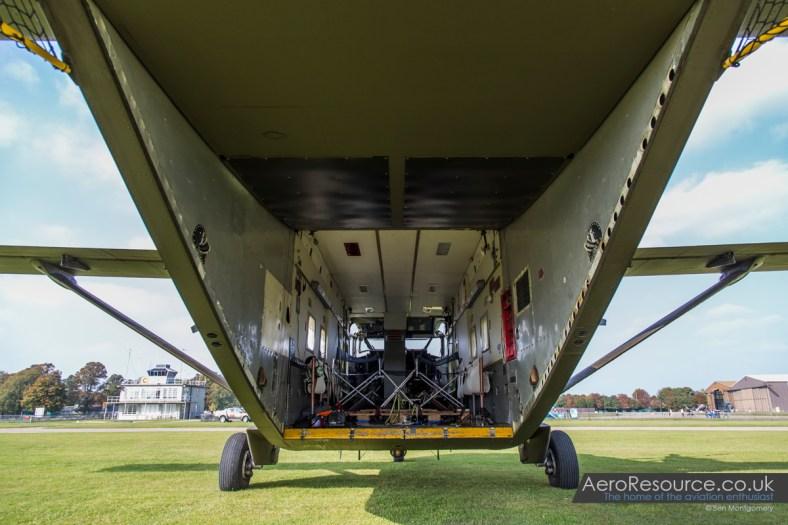 Skyvan G-BEOL - XH558 Air to Air