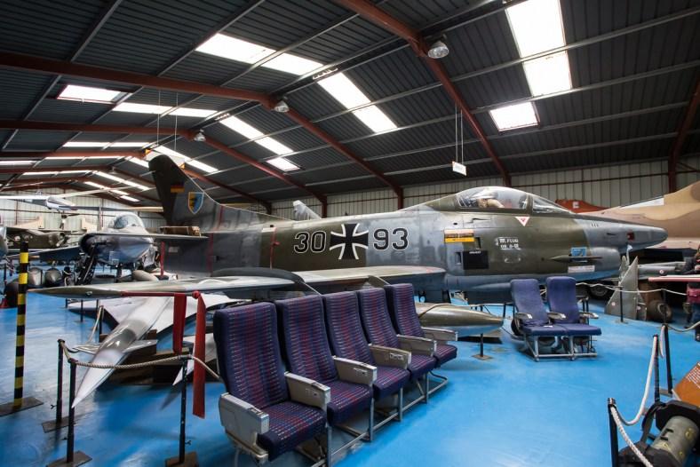 © Adam Duffield - Fiat G-91R 30+93 - L'Epopee de l'Industrie et de l'Aeronautique